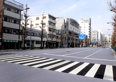 本郷遮熱性舗装(東京都)