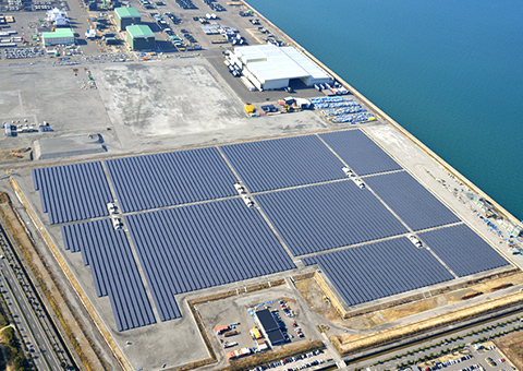 西条ひうち太陽光発電所(愛媛県))